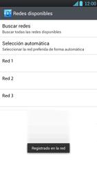 LG Optimus L9 - Red - Seleccionar una red - Paso 11