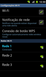 Samsung I9100 Galaxy S II - Wi-Fi - Como configurar uma rede wi fi - Etapa 9