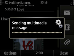 Nokia E6-00 - MMS - Sending pictures - Step 14
