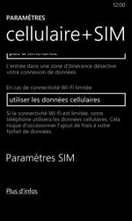 Nokia Lumia 635 - Réseau - Sélection manuelle du réseau - Étape 5