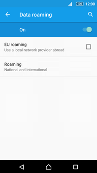 Sony Xperia Z5 Premium (E6853) - Internet - Disable data roaming - Step 7