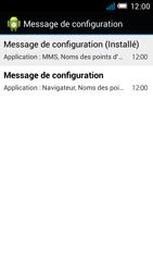 Alcatel OT-6012X Idol Mini - Paramètres - reçus par SMS - Étape 8