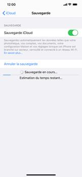 Apple iPhone XS Max - iOS 13 - Données - créer une sauvegarde avec votre compte - Étape 13