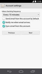 Huawei Ascend P6 LTE - Email - 032c. Email wizard - Outlook - Step 8