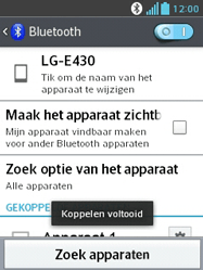 LG E430 Optimus L3 II - Bluetooth - koppelen met ander apparaat - Stap 11