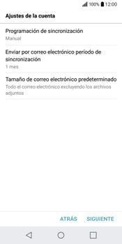 LG Q6 - E-mail - Configurar Yahoo! - Paso 9