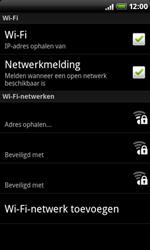 HTC A8181 Desire - WiFi - Handmatig instellen - Stap 9