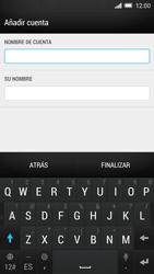 HTC One M8 - E-mail - Configurar Outlook.com - Paso 7
