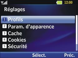 LG C320 InTouch Lady - Internet - Configuration manuelle - Étape 17