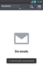 LG Optimus L5 II - E-mail - Escribir y enviar un correo electrónico - Paso 16