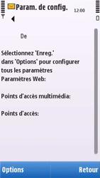 Nokia C6-00 - MMS - configuration automatique - Étape 8