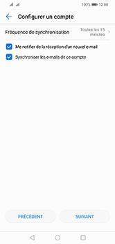 Huawei Y7 (2019) - E-mail - Configurer l