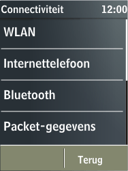 Nokia X3-02 - Bluetooth - Headset, carkit verbinding - Stap 5