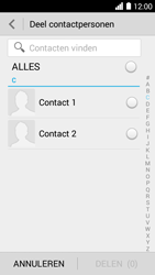 Huawei Ascend Y530 (Model Y530-U00) - Contacten en data - Contacten overzetten via Bluetooth - Stap 5
