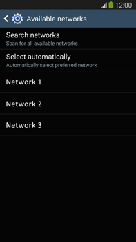 Samsung N9005 Galaxy Note III LTE - Network - Usage across the border - Step 8