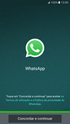 Samsung Galaxy S7 - Aplicações - Como configurar o WhatsApp -  6