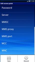 Sony Xperia X10 - Internet - Manual configuration - Step 11