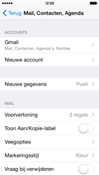 Apple iPhone 5 iOS 8 - E-mail - handmatig instellen (gmail) - Stap 10