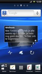 Sony Ericsson Xperia Neo V - E-mail - e-mail instellen: POP3 - Stap 1