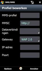 Samsung I8000 Omnia II - MMS - handmatig instellen - Stap 19