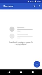 Sony Xperia XZ1 - Mensajería - Escribir y enviar un mensaje multimedia - Paso 4