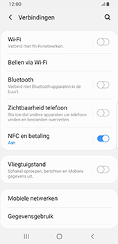 Samsung galaxy-s8-sm-g950f-android-pie - WiFi - Handmatig instellen - Stap 5