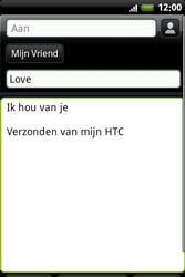 HTC A6363 Legend - E-mail - Hoe te versturen - Stap 9