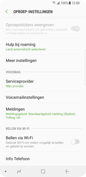 Samsung Galaxy S9 (SM-G960F) - Bellen - WiFi Bellen (VoWiFi) - Stap 6