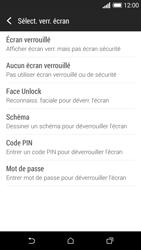HTC Desire 610 - Sécuriser votre mobile - Activer le code de verrouillage - Étape 6