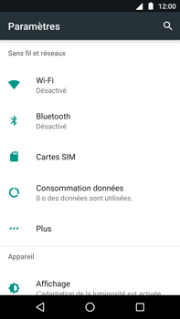 Motorola Moto Z Play - Internet - Configuration manuelle - Étape 4