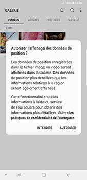 Samsung Galaxy Note 9 - Photos, vidéos, musique - Envoyer une photo via Bluetooth - Étape 4