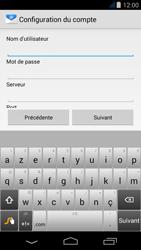 Acer Liquid Jade - E-mail - Configuration manuelle - Étape 8