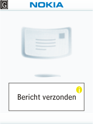 Nokia X2-00 - E-mail - Hoe te versturen - Stap 14