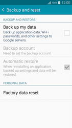 Samsung A500FU Galaxy A5 - Device - Reset to factory settings - Step 6