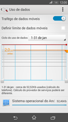 Sony Xperia E4G - Rede móvel - Como ativar e desativar uma rede de dados - Etapa 5
