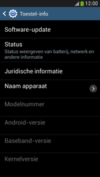 Samsung I9195 Galaxy S IV Mini LTE - Software update - update installeren zonder PC - Stap 6