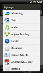 HTC S510b Rhyme - E-mail - Hoe te versturen - Stap 11