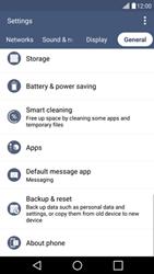 LG H525N G4c - Network - Installing software updates - Step 5