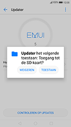 Huawei P8 Lite 2017 (Model PRA-LX1) - Software updaten - Update installeren - Stap 4