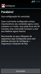 Motorola XT910 RAZR - Primeiros passos - Como ativar seu aparelho - Etapa 10