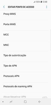 Samsung Galaxy S9 - Internet no telemóvel - Como configurar ligação à internet -  12