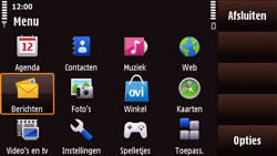 Nokia N97 Mini - MMS - handmatig instellen - Stap 20