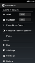 Bouygues Telecom Ultym 5 II - Internet et connexion - Partager votre connexion en Wi-Fi - Étape 4