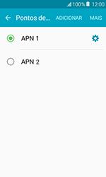 Samsung Galaxy J1 - Internet (APN) - Como configurar a internet do seu aparelho (APN Nextel) - Etapa 16