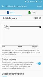 Samsung Galaxy J5 (2016) DualSim (J510) - Internet no telemóvel - Como ativar os dados móveis -  7
