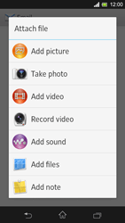 Sony C5303 Xperia SP - Email - Sending an email message - Step 11