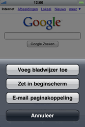 Apple iPhone 3G - internet - hoe te internetten - stap 4