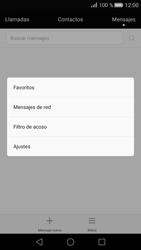 Huawei P8 - Mensajería - Configurar el equipo para mensajes de texto - Paso 4