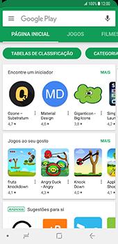 Samsung Galaxy S9 - Aplicações - Como pesquisar e instalar aplicações -  4