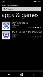 Microsoft Lumia 640 - Applicaties - MyProximus - Stap 7